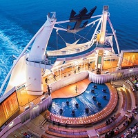 Harmony of the Seas - Aqua Theater