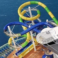 Mariner of the Seas - tobogan Perfect Storm