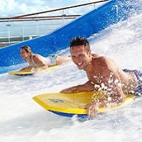 Spectrum of the Seas - FlowRider simulátory surfu